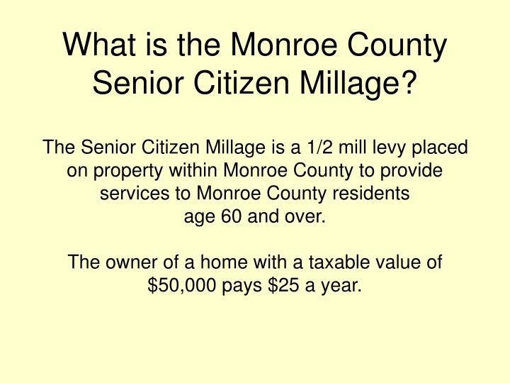 What is the Monroe County