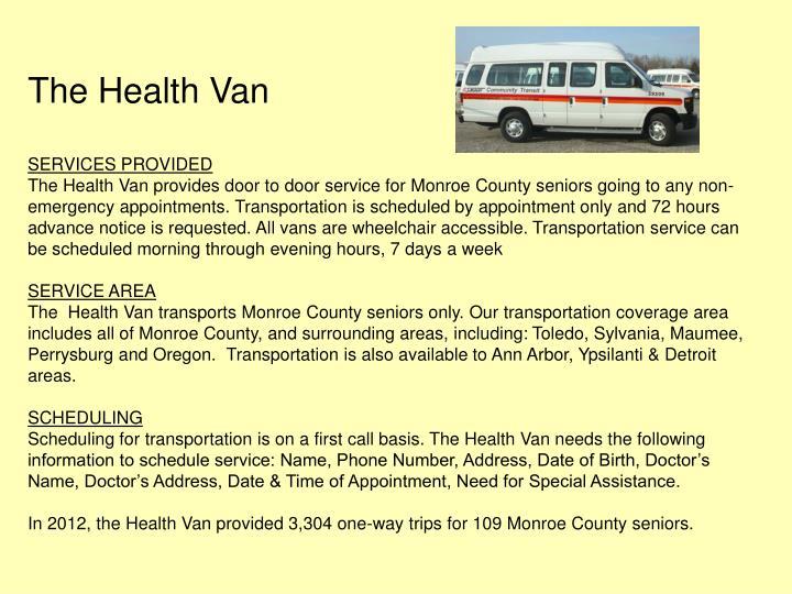 The Health Van