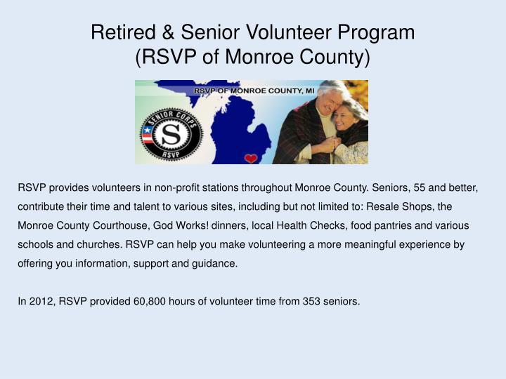 Retired & Senior Volunteer Program
