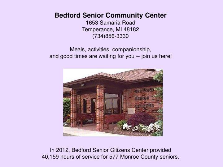 Bedford Senior Community Center