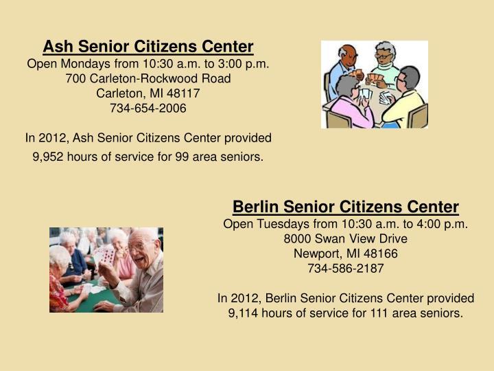 Ash Senior Citizens Center