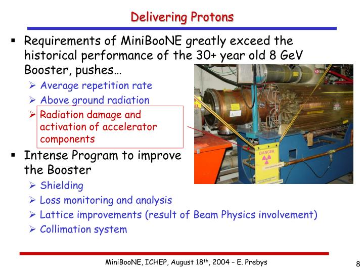 Delivering Protons