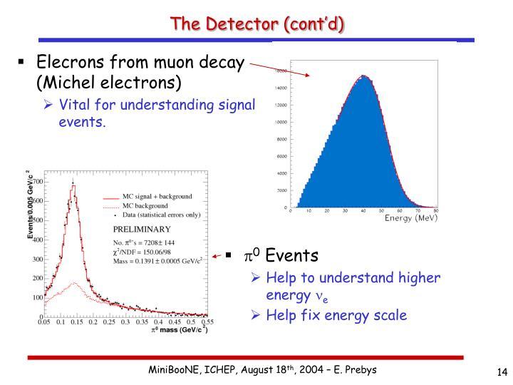 The Detector (cont'd)