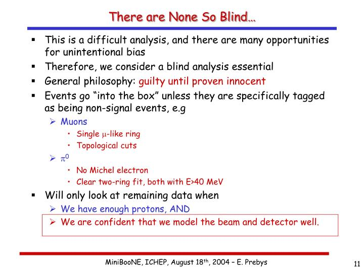 There are None So Blind…