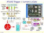 atlas trigger current l1calo