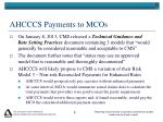 ahcccs payments to mcos