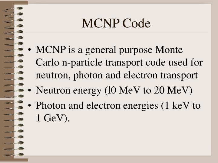 MCNP Code