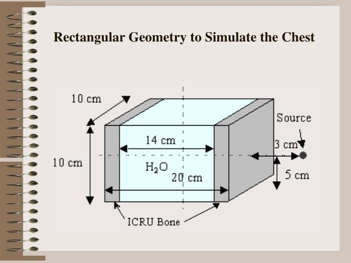 Rectangular Geometry to Simulate the Chest