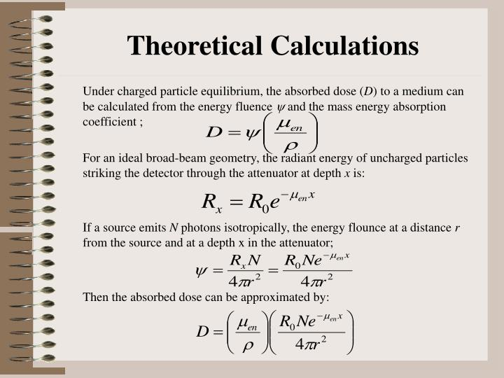 Theoretical Calculations