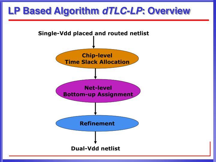 LP Based Algorithm