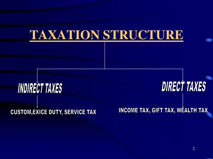 Taxation structure