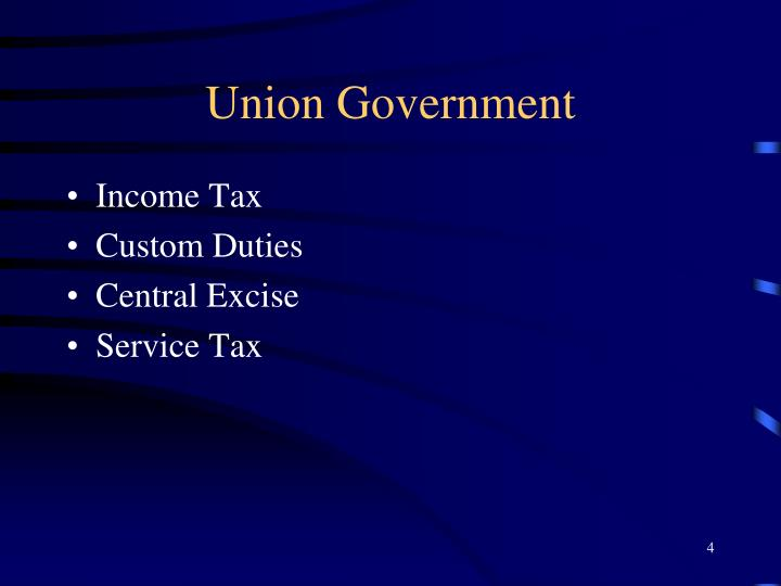 Union Government