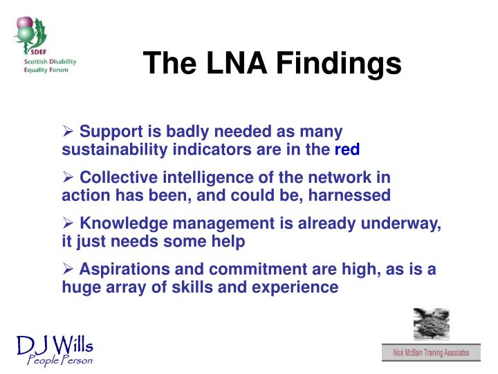 The LNA Findings