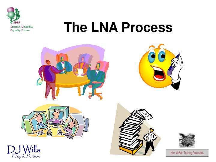The LNA Process