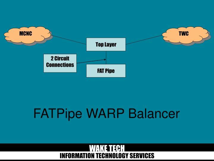 FATPipe WARP Balancer