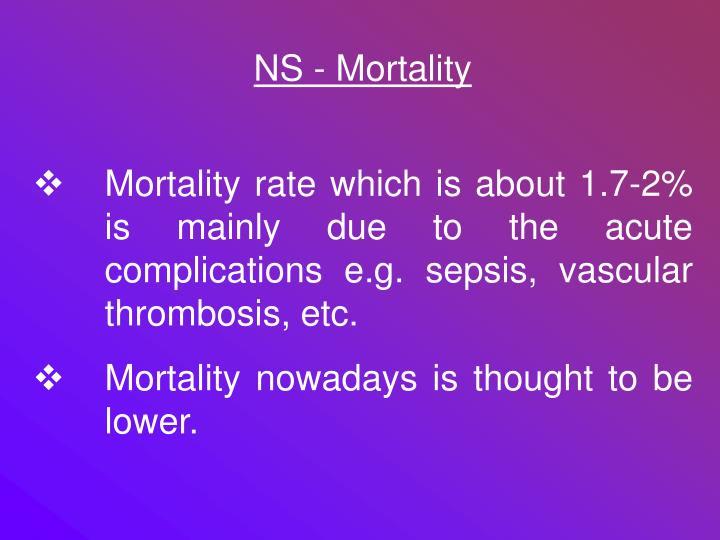 NS - Mortality