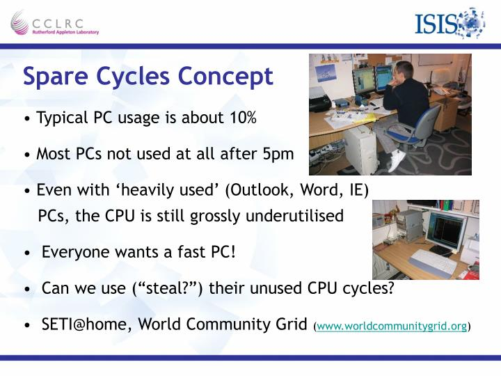 Spare Cycles Concept