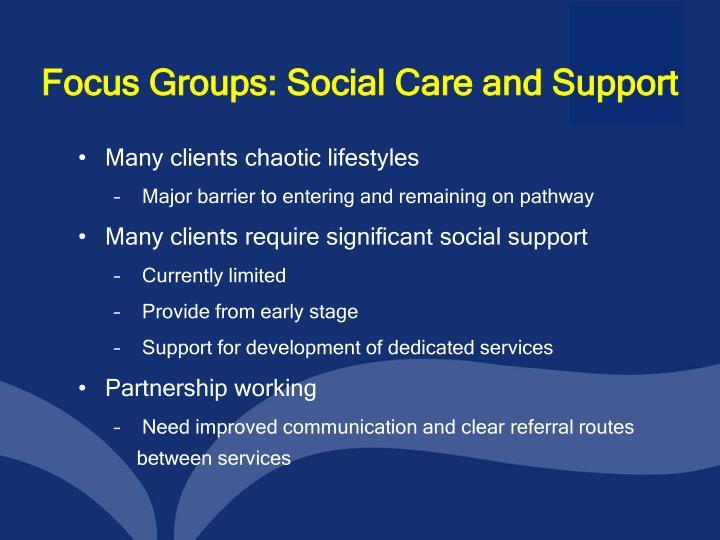 Focus Groups: