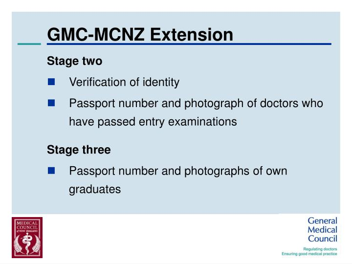 GMC-MCNZ Extension