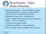 shared equity open market homebuy