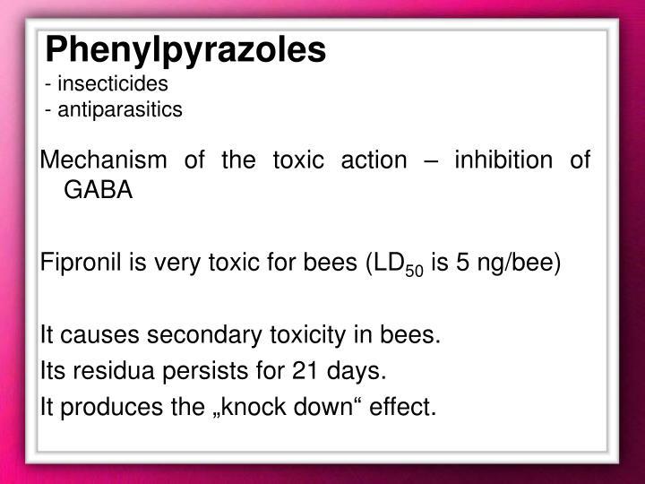 Phenylpyrazoles