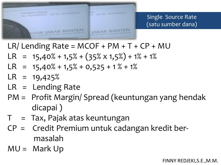 Single  Source Rate