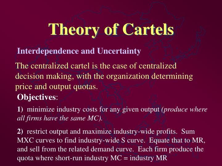Theory of Cartels