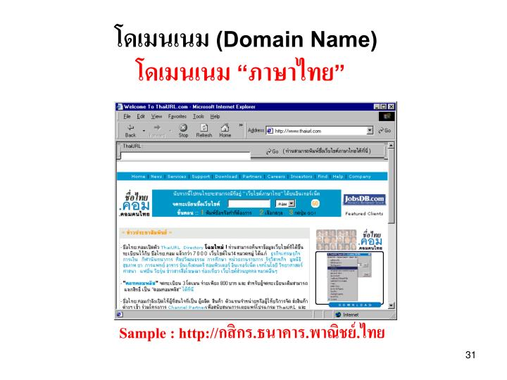 (Domain Name)