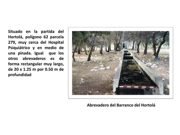 Abrevadero del Barranco del
