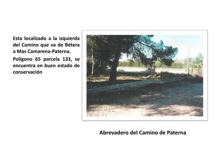 Abrevadero del Camino de Paterna