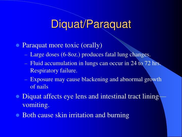 Diquat/Paraquat