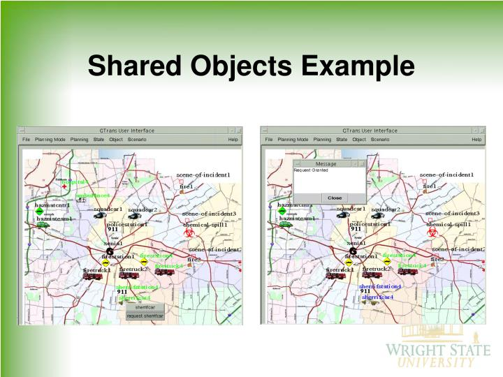 Shared Objects Example