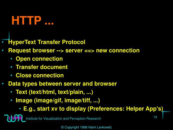 HTTP ...