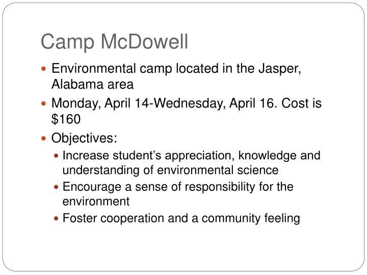 Camp McDowell