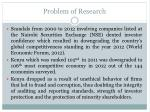 problem of research