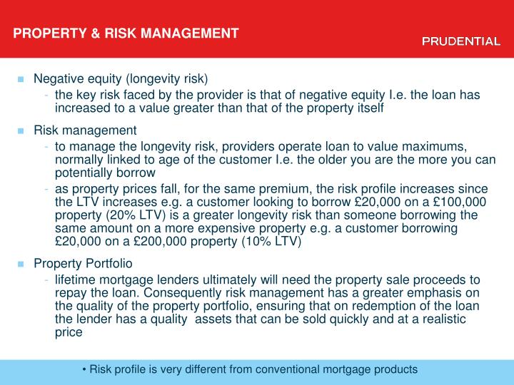 PROPERTY & RISK MANAGEMENT