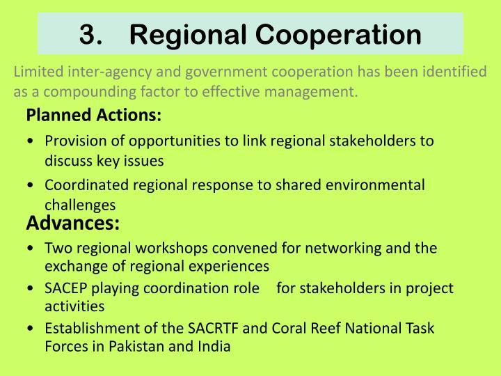 3.Regional Cooperation