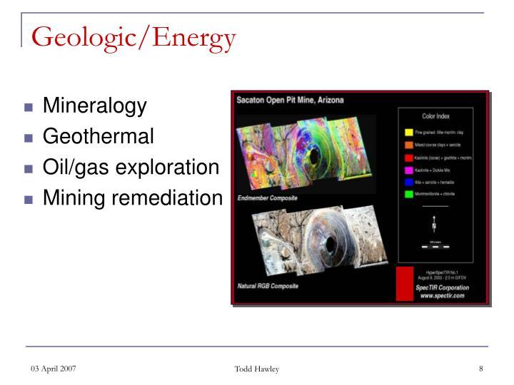Geologic/Energy
