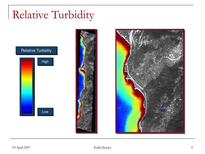 Relative Turbidity