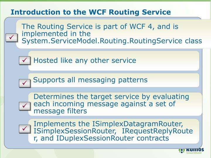 Introduction to the WCF Routing Service