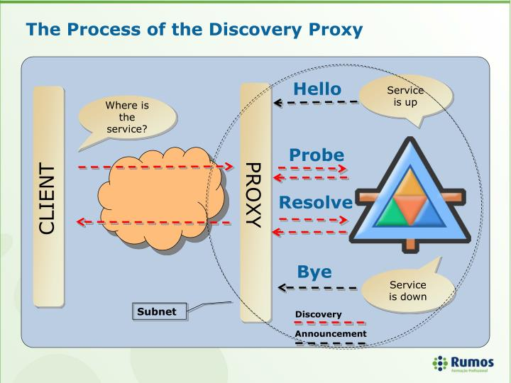 The Process of the Discovery Proxy