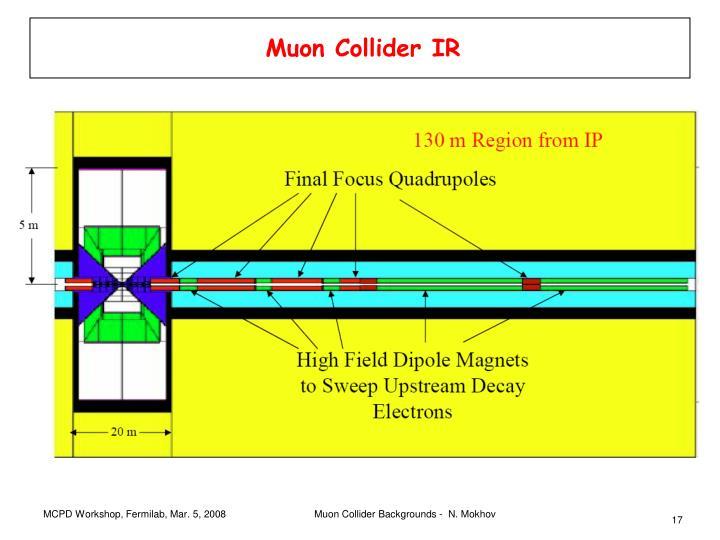 Muon Collider IR