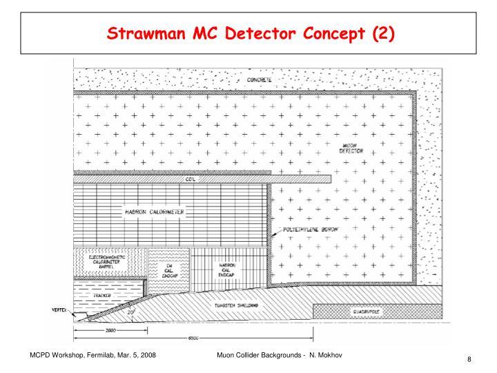 Strawman MC Detector Concept (2)