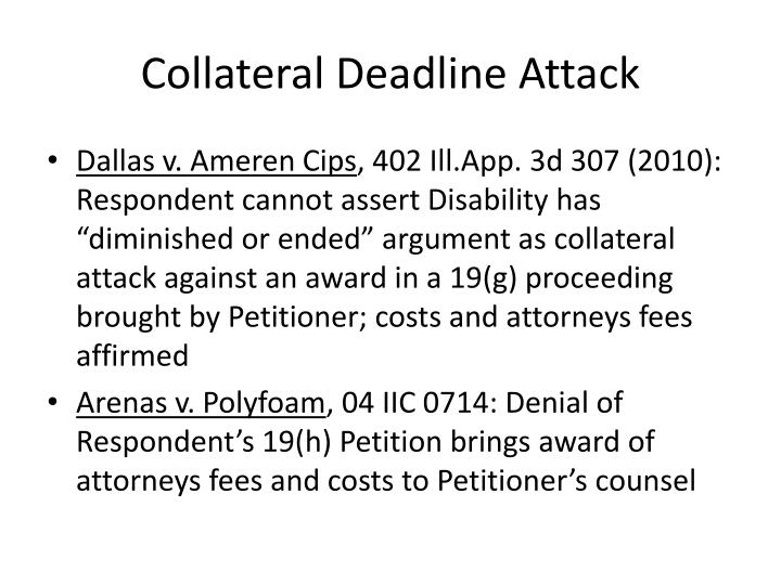 Collateral Deadline Attack