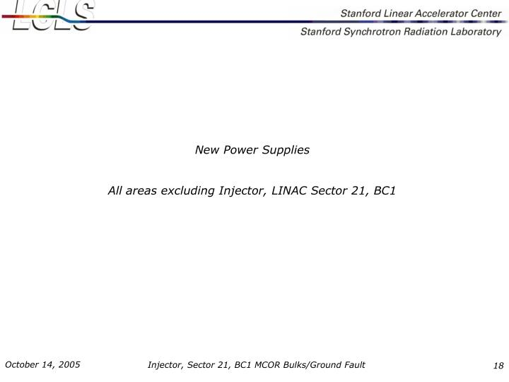 New Power Supplies