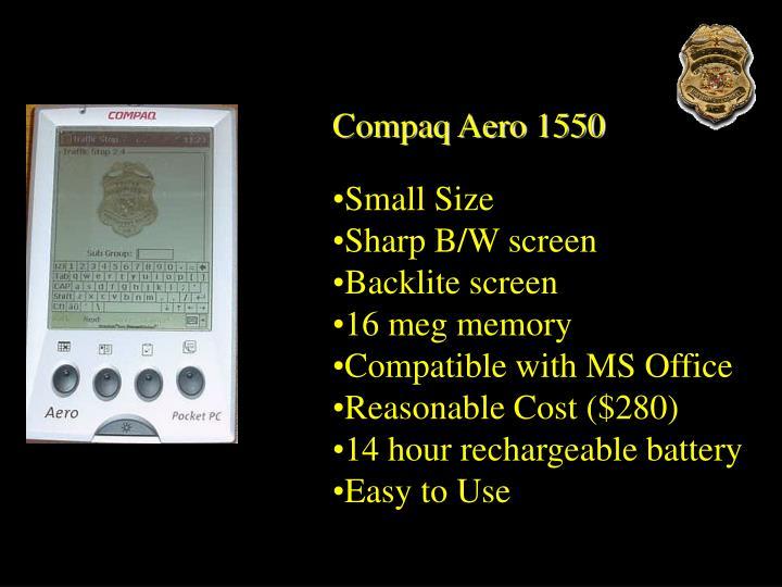 Compaq Aero 1550