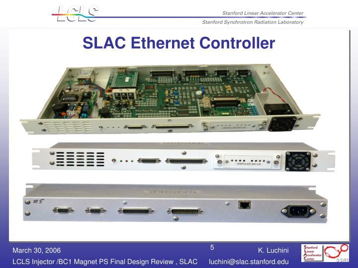 SLAC Ethernet Controller