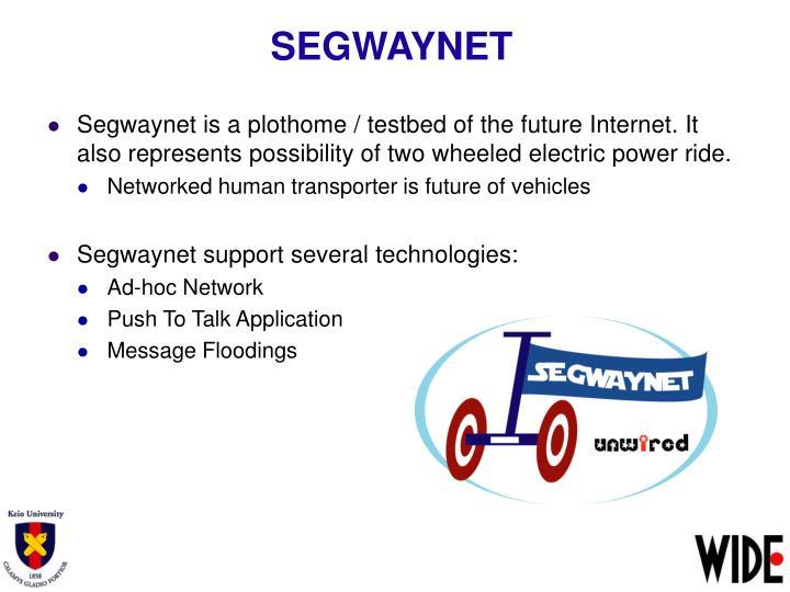 SEGWAYNET