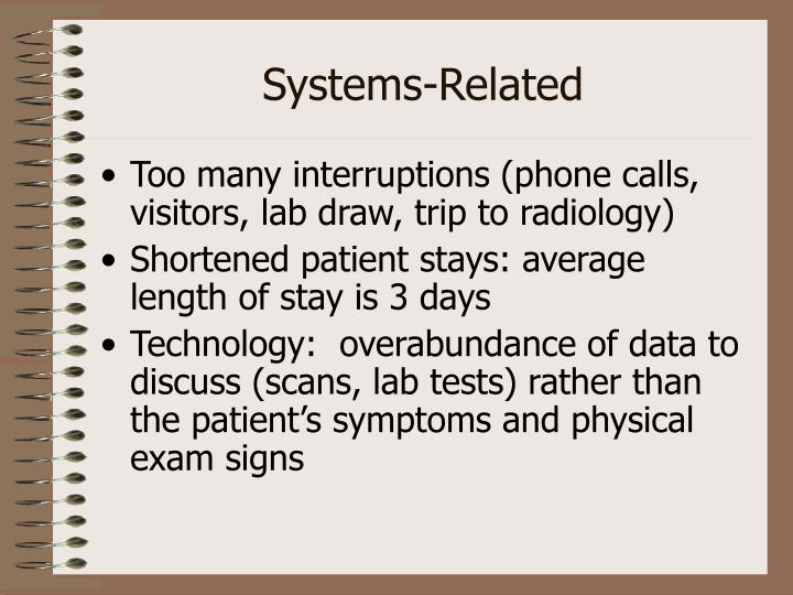 Systems-Related