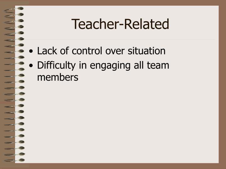 Teacher-Related